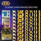 925 Silver 050mm Automatic chain making machine with Plasma